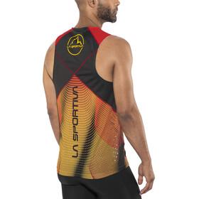 La Sportiva Velocity - Camiseta sin mangas running Hombre - amarillo/negro